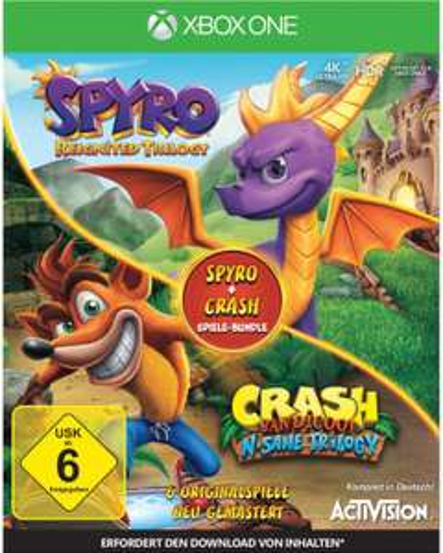 EWD: z.B. Spyro: Reignited Trilogy + Crash Bandicoot: N-Sane Trilogy [One] - 49€   Hitman Definitive Edition Steelbook [One] - 19€