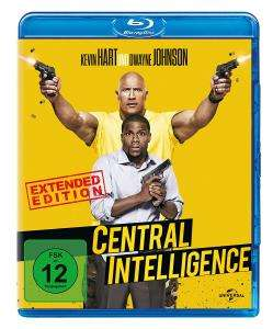 Central Intelligence Kinofassung + Unrated Extended Cut (Blu-ray) für 3,98€ (Dodax)
