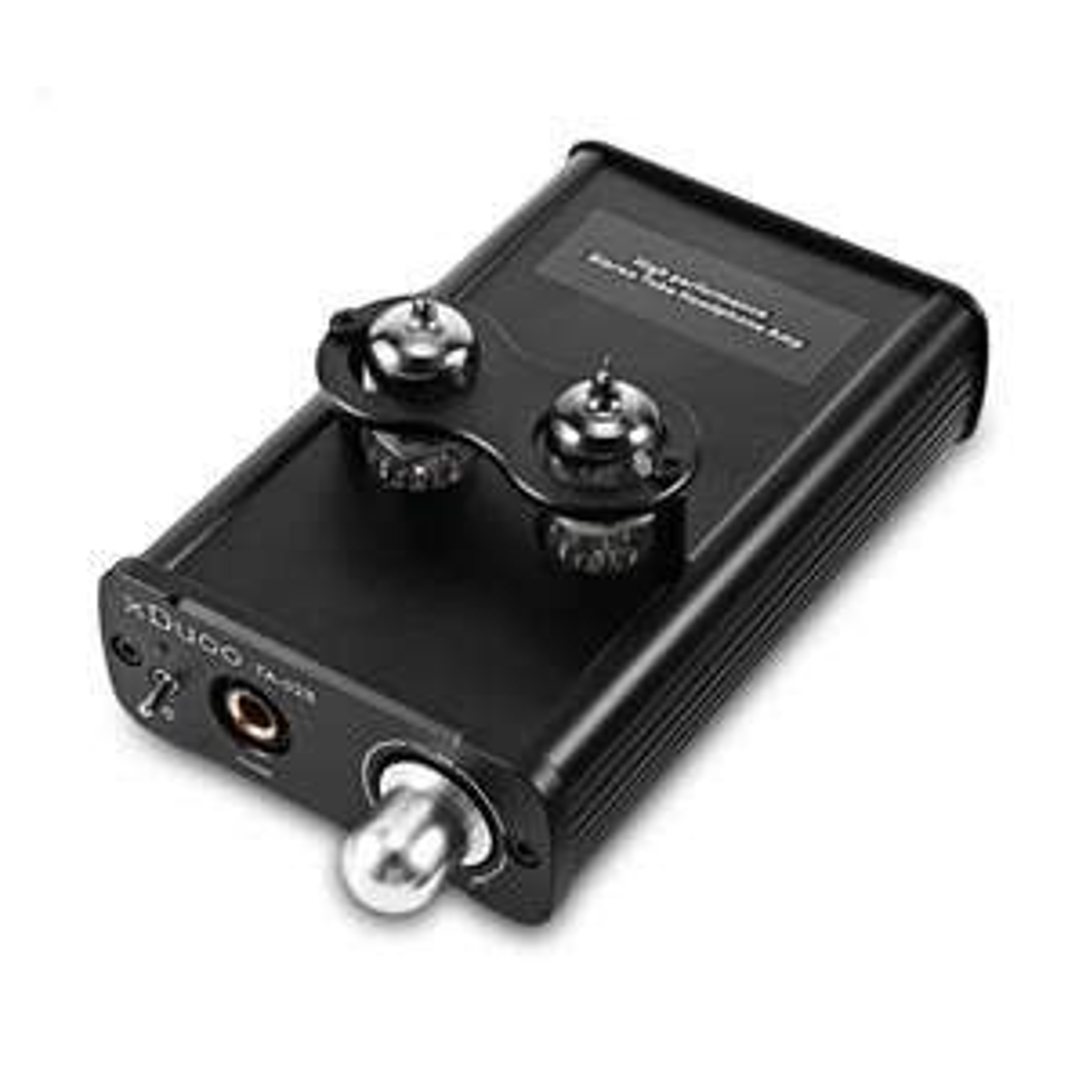 xDuoo TA-02S Hybrid Röhren- und Transistor-Kopfhörerverstärker (780mW/32Ω, 10Hz - 100KHz, 110dB, 0.1pct)