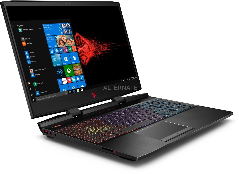 "OMEN by HP 15-dc0002ng (15.6"", IPS, FHD, 60Hz, i7-8750H, 16GB RAM, 256GB M.2 PCIe + 1TB HDD, GTX 1050 Ti 4GB, USB-C, 70Wh, RGB, Win10)"