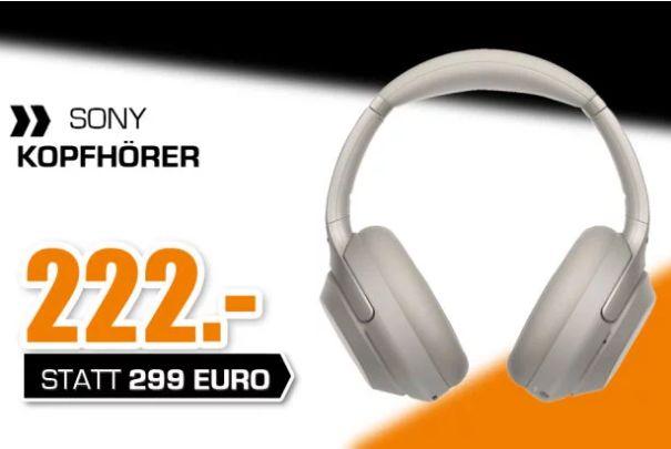 [Regional Hattingen-Nur am Sonntag] SONY WH-1000XM3, Over-ear Kopfhörer Bluetooth für 222,-€
