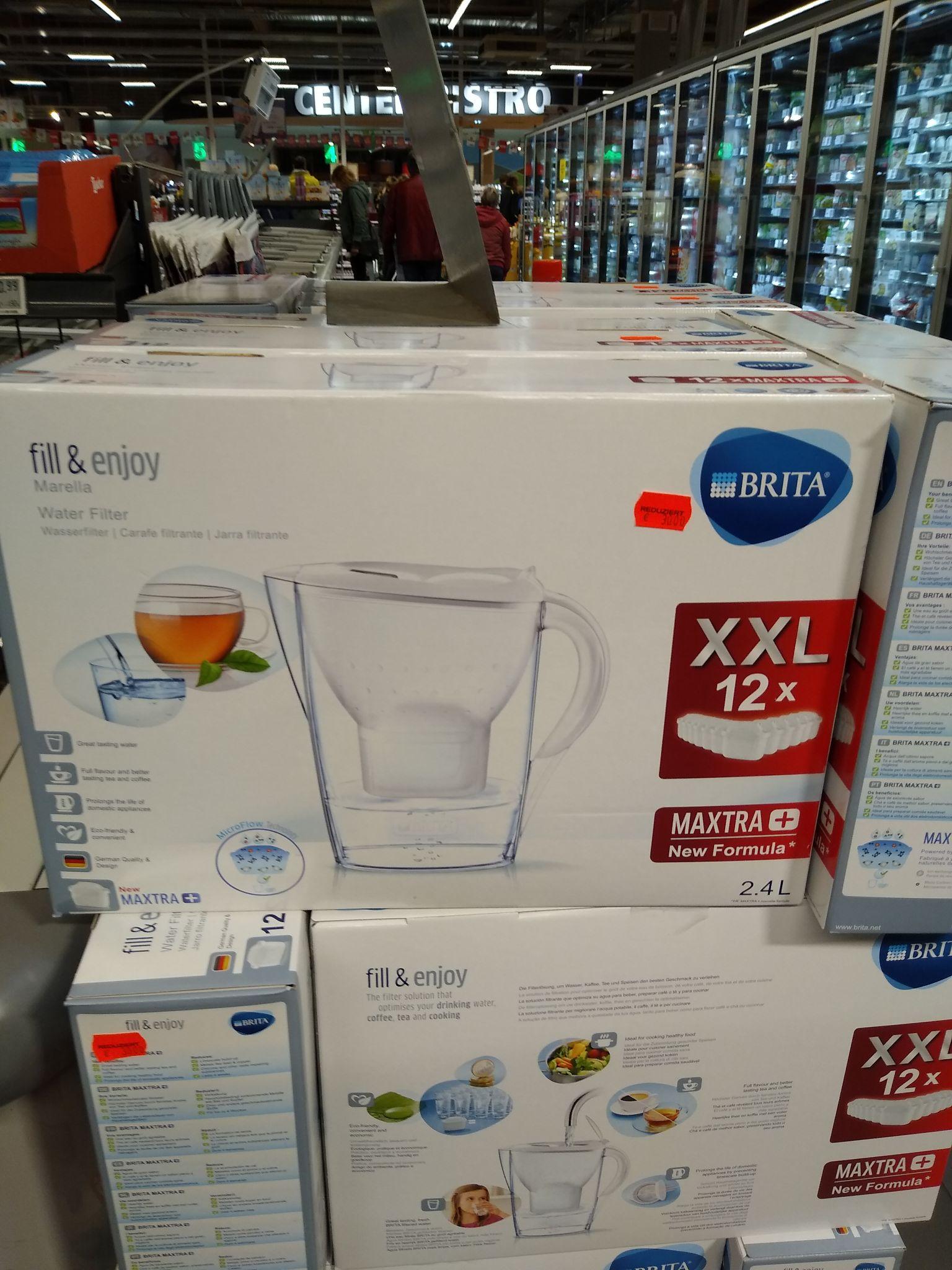 [Lokal Rewe Elsterwerda] Brita Wasserfilter XXL 12er Pack