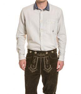 """STOCKERPOINT Trachten-Hemd """"Luke"""" aus Leinen in S, M und L!  Oktoberfest"""