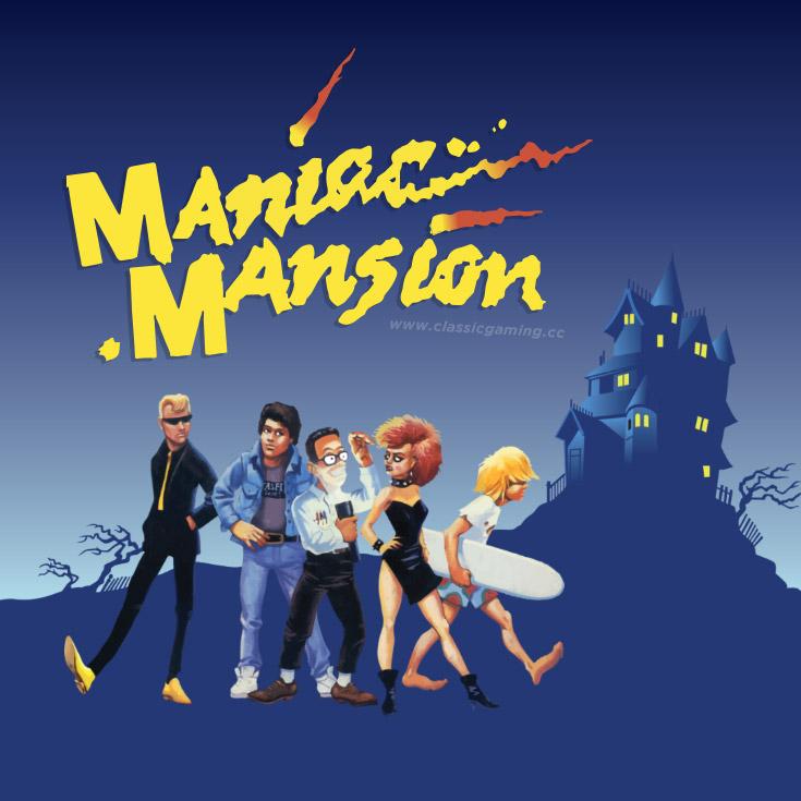 Maniac Mansion (PC) für 1,89€ (GOG)