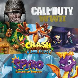 [Humble Bundle] November Monthly, mit Call Of Duty: WWII, Crash Bandicoot N.Sane Trilogy & Spyro Reignited Trilogy (Steam)