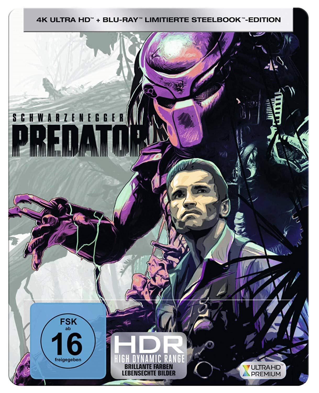 Predator 4K Limited Steelbook Edition (4K UHD + Blu-ray) für 19€ versandkostenfrei (Saturn)