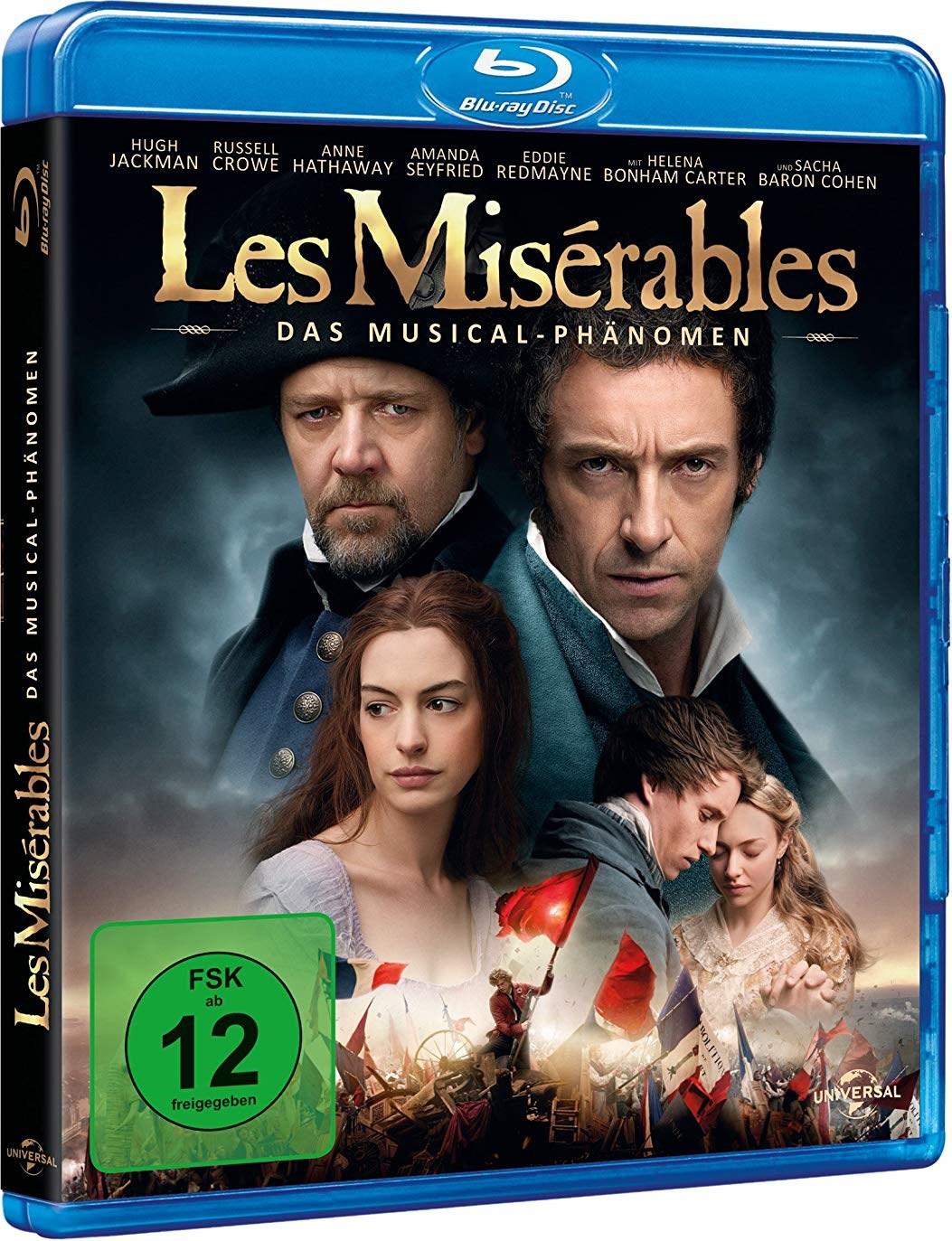 [ebay - dodax | mecodu] Les Misérables (Blu-ray) für 3,68€ inkl. Versand