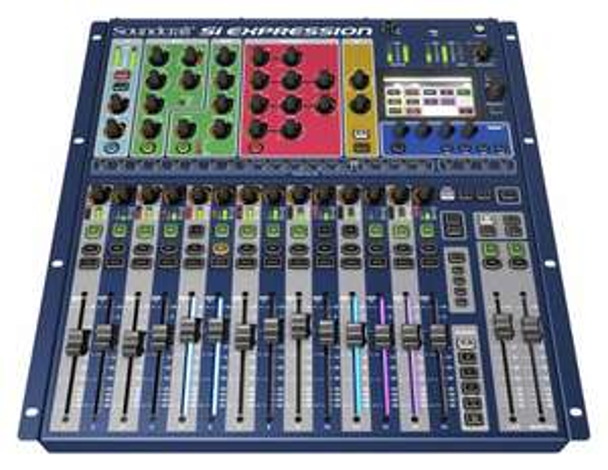 Soundcraft Si Expression 1 Digitalmischpult (68-Kanal, 16 Fader, 40 Bit Floating Point Processing, 16 Mic/Line Eingänge)