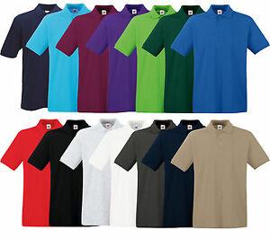(EbayDeal) Fruit of the Loom Herren Poloshirts verschiedene Farben und Grössen