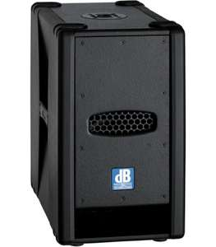 dB Technologies SUB 28D: PA-Subwoofer (800W, 2x 8 Zoll, 45Hz - 150Hz, 125dB)