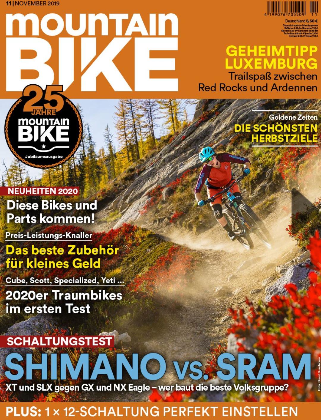 Mountainbike Magazin 24+1 Ausgabe inkl. 80 EUR Gutschein
