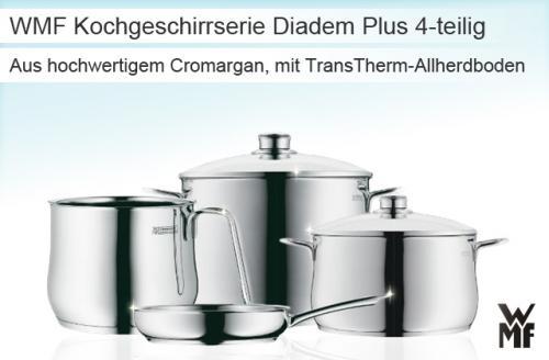 @meinpaket - WMF Kochgeschirr Set Diadem Plus 80,95€
