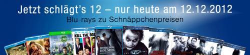 [AMAZON.DE] Jetzt schlägt's 12! Viele Blu-Rays für 7,77 €