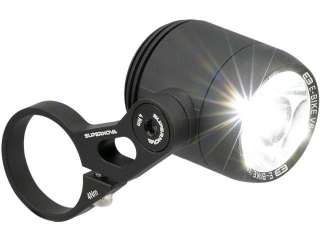 [Bike Components] ebike Supernova E3 V6S HBM LED Frontlicht StVZO-konform