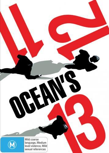 [Blu-Ray]  Amazon Blitzangebot Ocean's Trilogie (3 Discs) [Blu-ray]