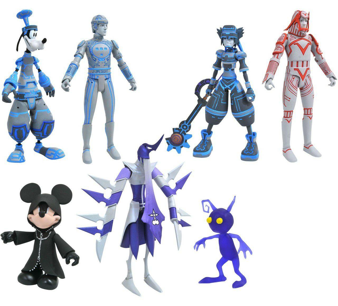[Lokal] Gamestop Disney Kingdom Hearts Series 3 Mickey with Shadows, Goofy with Tron & Shadow & Sora with Donald & Sark