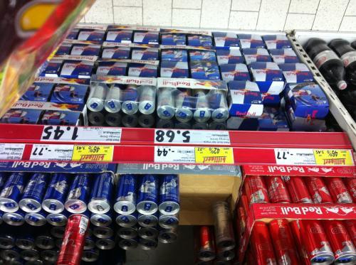 [lokal] Redbull Red&Blue 46% billiger Silver 42% billiger