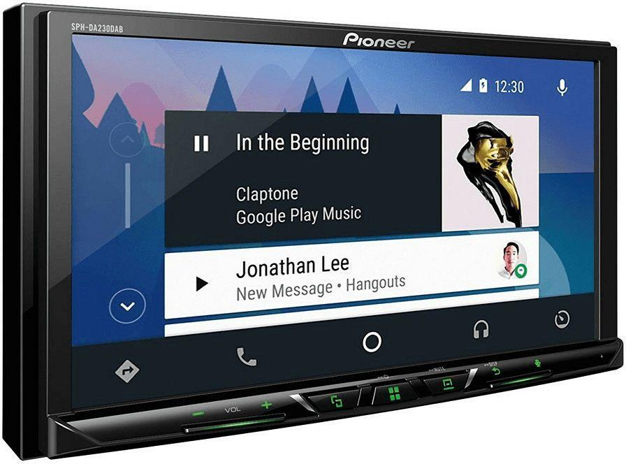 Pioneer SPH-DA230DAB Autoradio 7 Zoll (2DIN, Bluetooth, AUX, USB, DAB, DAB+ Digitalradio, Spotify, Apple CarPlay, Android Auto, 4x 50 Watt)