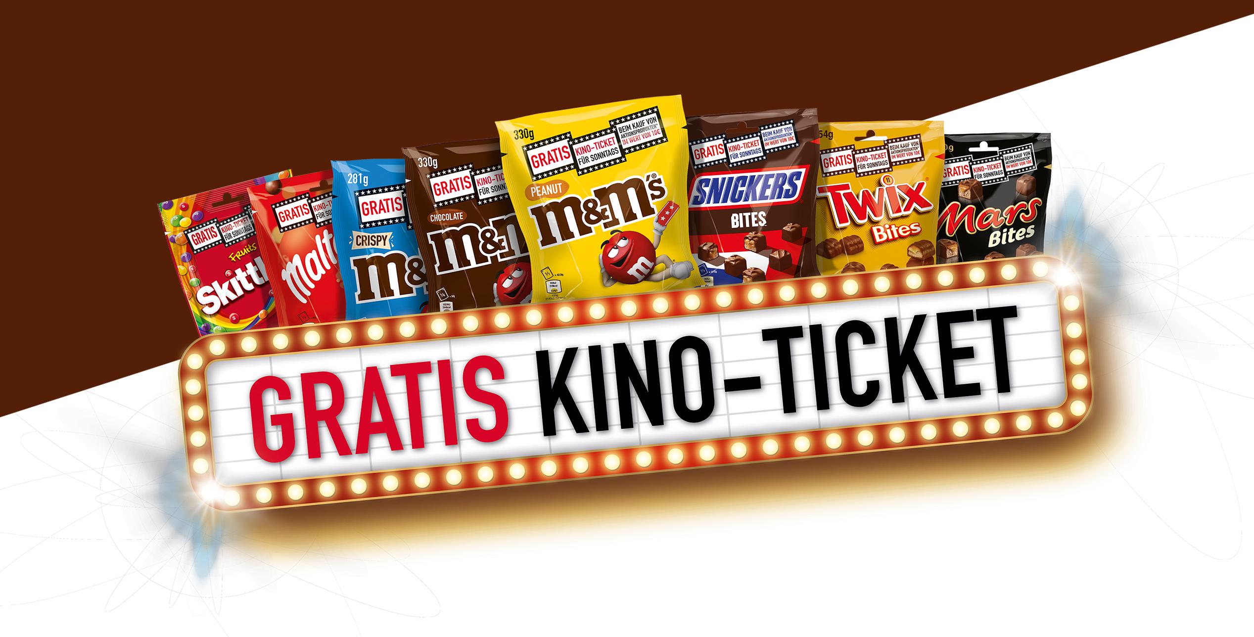 real bundesweit ab 14.10: Diverse Süßigkeiten im Gesamtwert von mindestens 10€ kaufen und Kino Gutschein erhalten (nur Sonntags gültig)