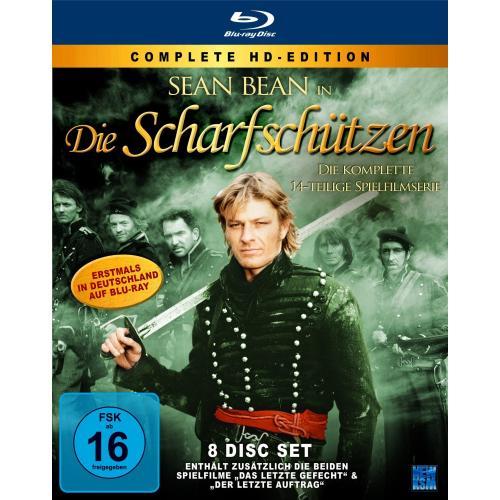 Die Scharfschützen (Komplettbox - 8 Disc Set) Blu Ray Box für 47,99 Euro @ buecher.de