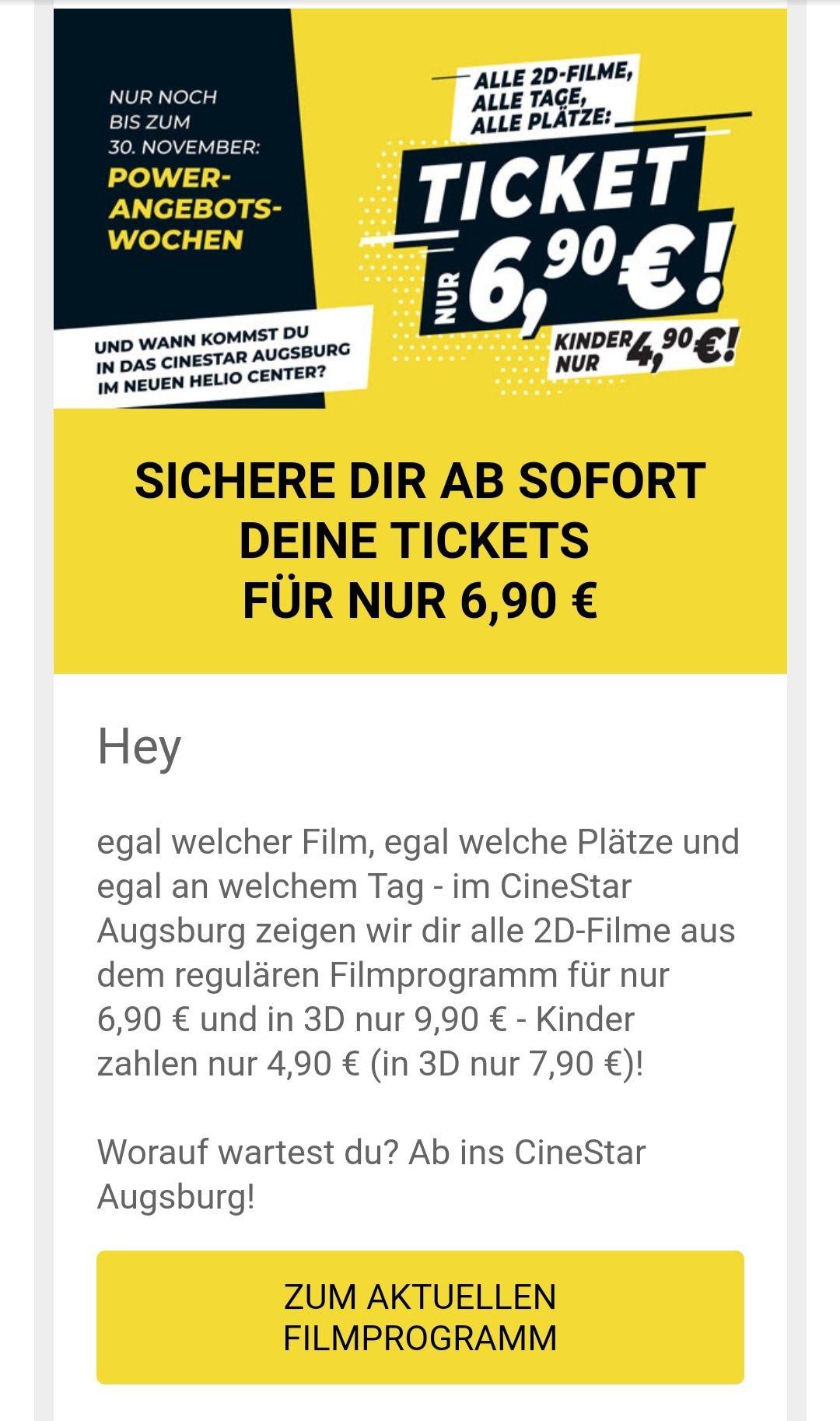 *Lokal* - Augsburg - CineStar - Kino