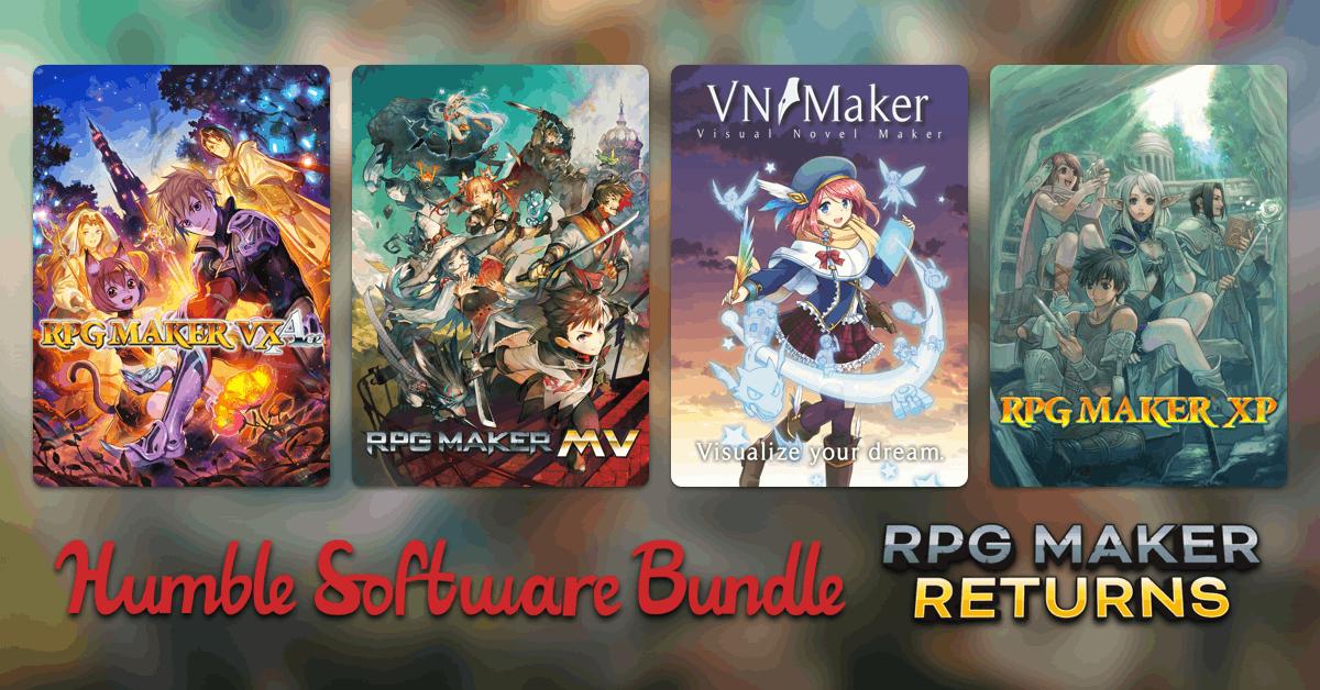 HUMBLE SOFTWARE BUNDLE: RPG MAKER RETURNS (Steam) ab 0,91€