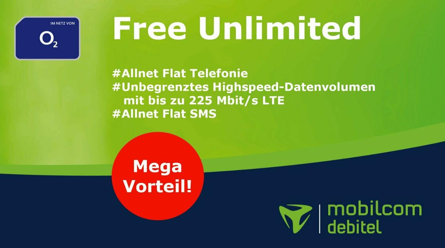 [Lokal Berlin] MD Free Unlimited (o2) - Allnet/Datenvolumen/SMS Flat - 29€/m Bestpreis