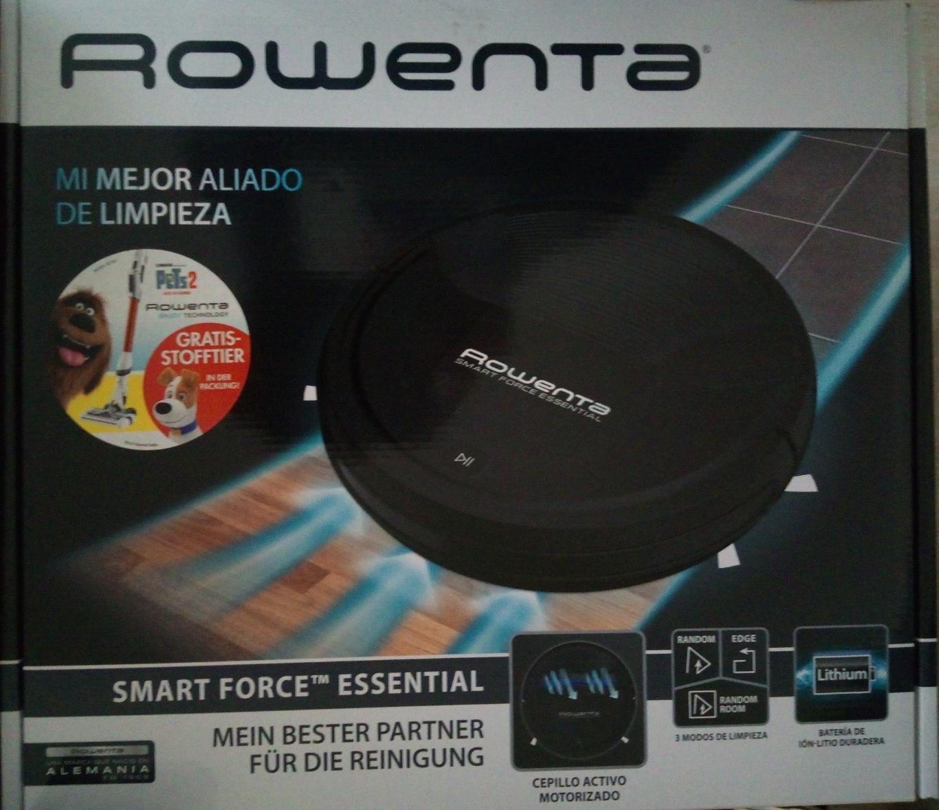 Kaufland:  Rowenta Smart Force Essential RR6925  Staubsauger Roboter Chaos-Prinzip