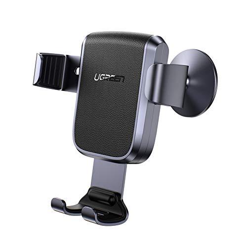 Ugreen Handyhalterung für das Armaturenbrett (für Geräte von 4.7 bis 7 Zoll, 3M-Klebepad, Schwerkraftprinzip, Kabel-Aussparung) [Prime]