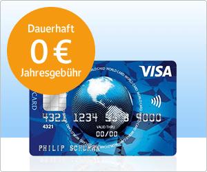 Webcent GMX.de/Web.de 4000 / 7500 Webcent für kostenlose ICS Visa World Card