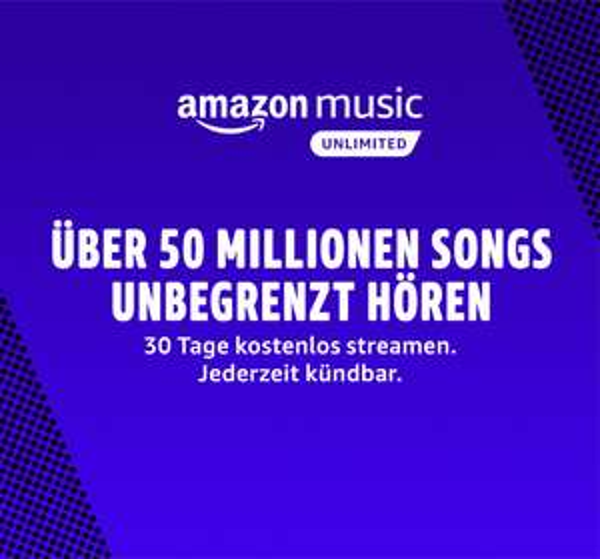Amazon Music Unlimited HD 3 Monate kostenlos