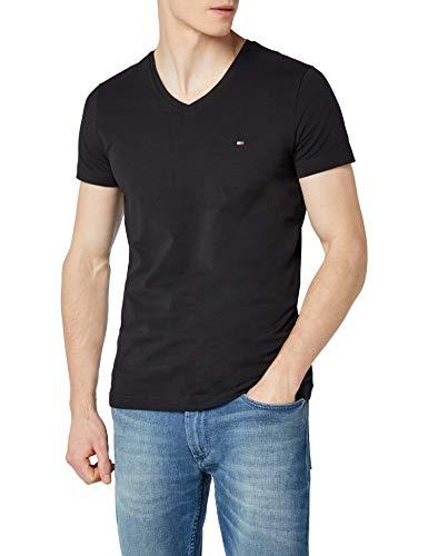 (Prime) Tommy Hilfiger Herren Core Stretch Slim Vneck T-Shirt