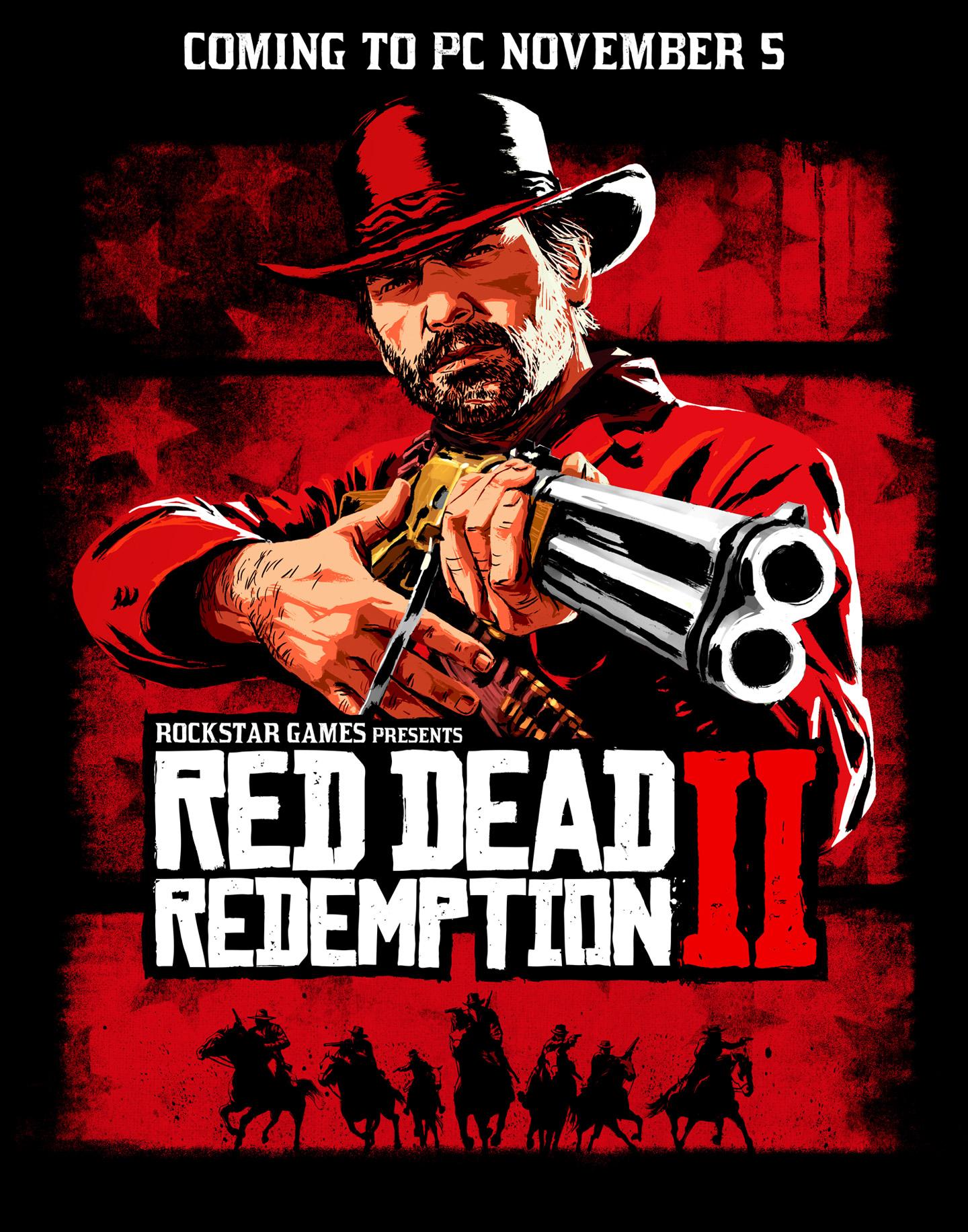 Red Dead Redemption 2 PC Vorbestellung + 2 Spiele nach Wahl (GTA III, GTA VC, MP3, Bully, L.A. Noire) über RU VPN