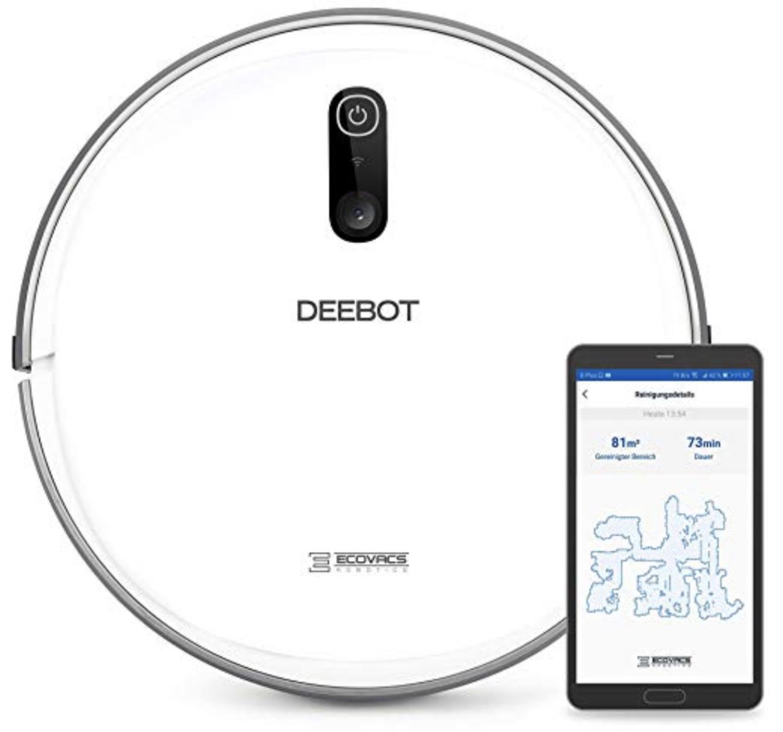 Ecovacs Deebot D710 Saugroboter Staubsauger Laser Smart Navi-Technologie Alexa für 209€ inkl. Versandkosten