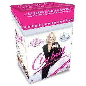 Cybill- Die Komplettbox mit 87 Folgen auf 15 DVDs