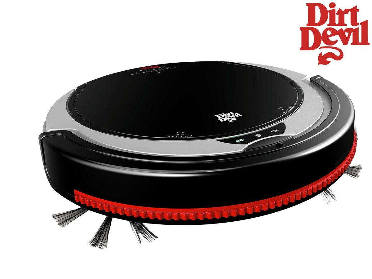 Dirt Devil Roboter-Staubsauger M613 TRACKER | dreistufige Reinigung
