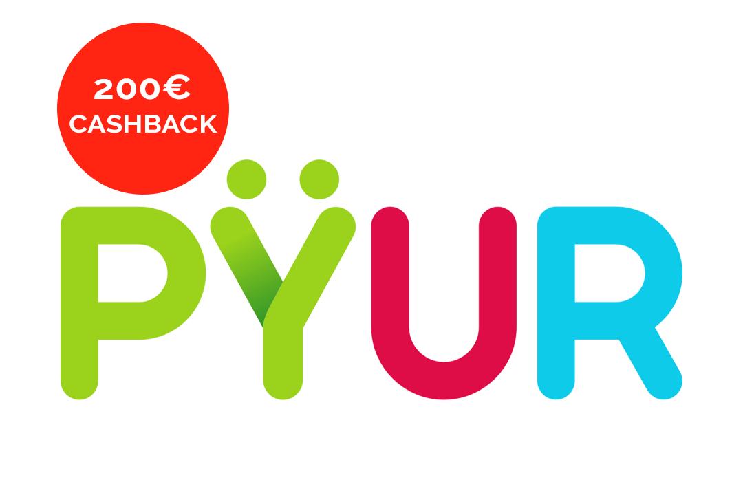 PYUR PureSpeed 200, 400 Internet Vertrag mit 200€ Cashback von Shoop Router 200k Leitung Für nur 17,90€ pro Monat