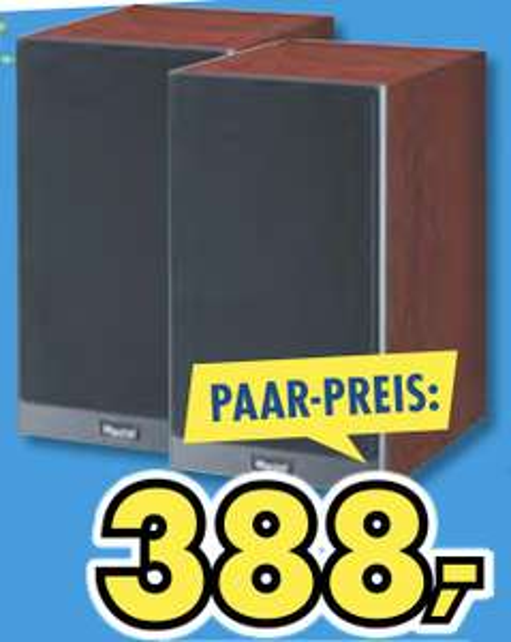 Lokal Euronics Mega Company: Magnat Signature 503 Regalboxen Mocca Paarpreis 388€
