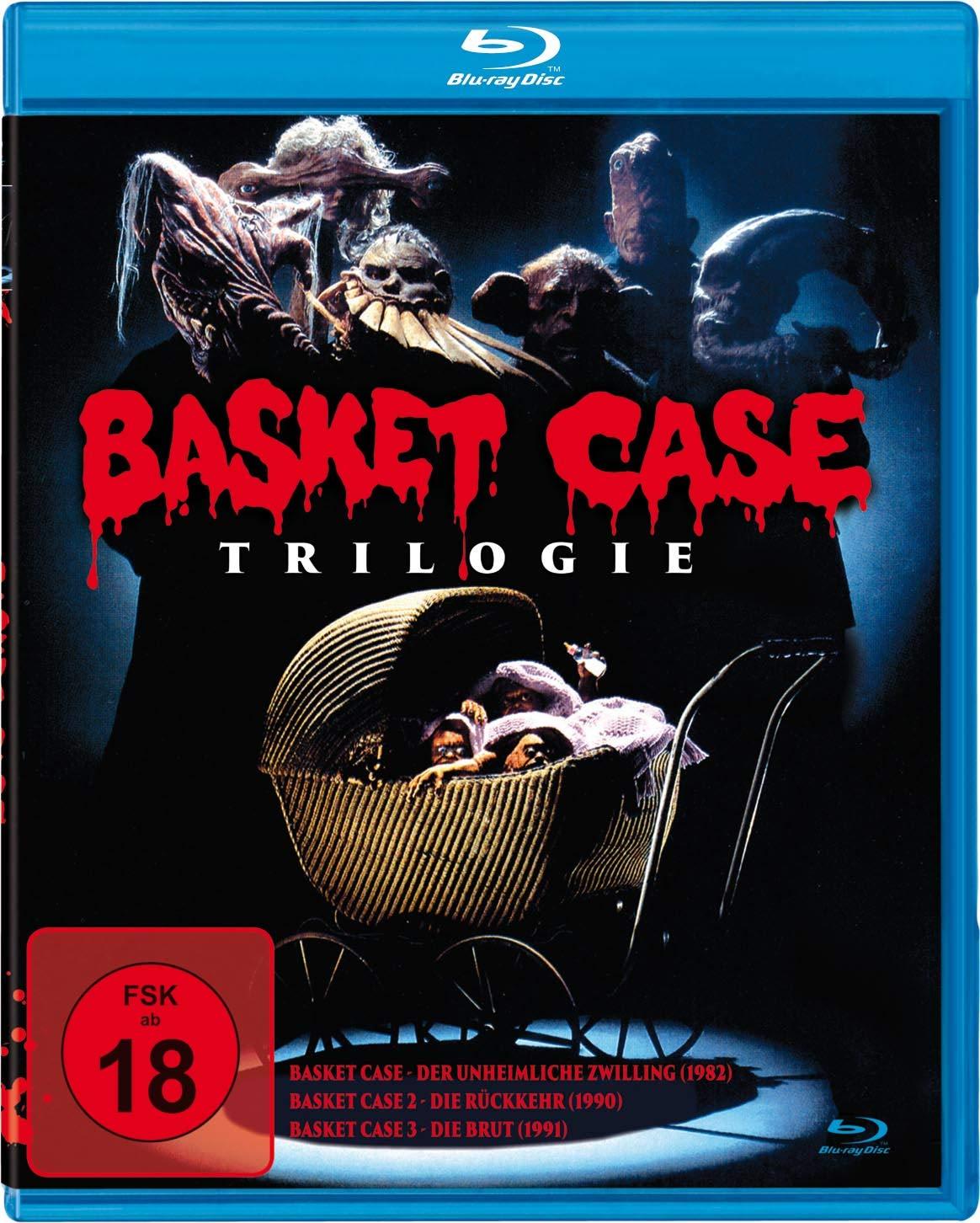 Basket Case Trilogie (3 Discs Blu-ray) für 4,99€ bzw. 4,25€ (Müller)