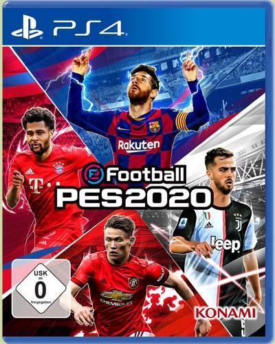 eFootball PES 2020 - Pro Evolution Soccer für PS4 32,49€ inkl. Versandkosten