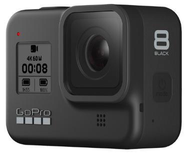 GoPro HERO8 Black mit 100€ Rabatt (bei Eintausch einer alten Digitalkamera ab 100$ Neupreis)