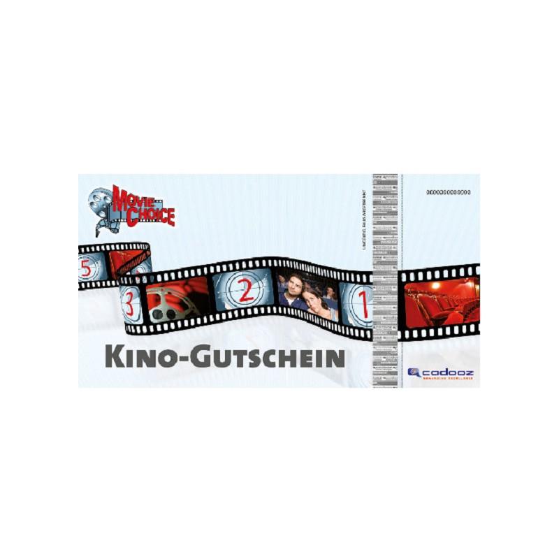 MovieChoice Kinogutschein für Zwei – inkl. 1 Snack und 1 Softdrink (Payback)