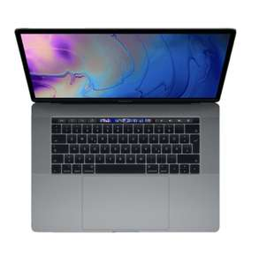Apple MacBook Pro 15 (2018) | i7 16 GB RAM 256 GB Radeon 555X Space Grau | Metro Deutschlandweit