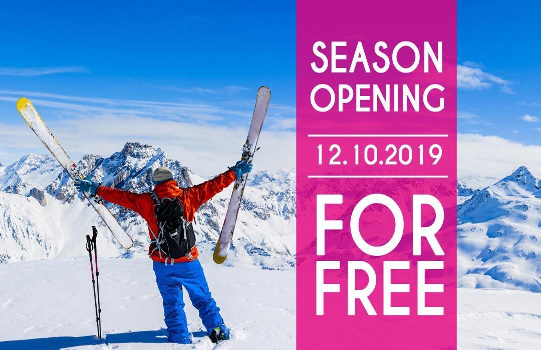Gratis Skipass am 12.10.2019 Stubaier Gletscher