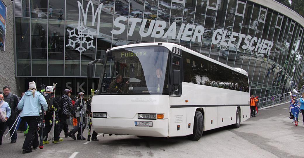Kostenlose Fahrt von Innsbruck zum Stubaier Gletscher und zurück - Wintersaison 2019/2020