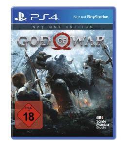 God of War Day One Edition (PS4) für 19,99€ bzw. 16,99€ (Müller)