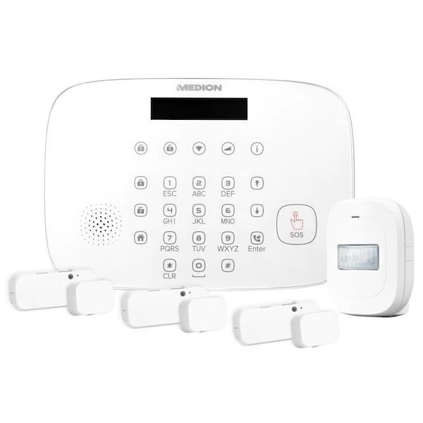 40% auf Smart Home-Produkte von Medion: Alarmsysteme, Zwischenstecker, Fenster-/Türkontakte, Bewegungsmelder, Überwachungskameras, Leuchten