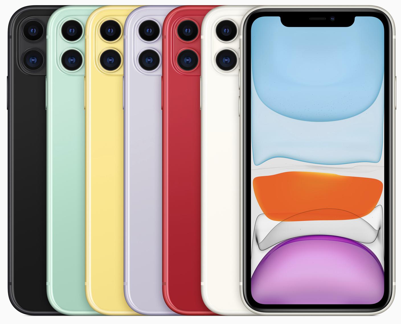 Apple iPhone 11 64GB rot, weiss oder purple für 747,23€ inkl. Versandkosten - 128GB versch. Farben für 806,43€
