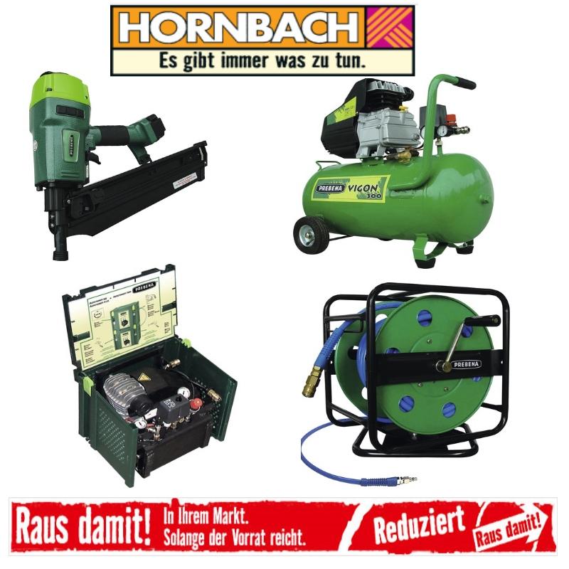 [Hornbach Lokal Abverkauf] Prebena Aerotainer 245 und andere Drucklufttechnik / Zubehör