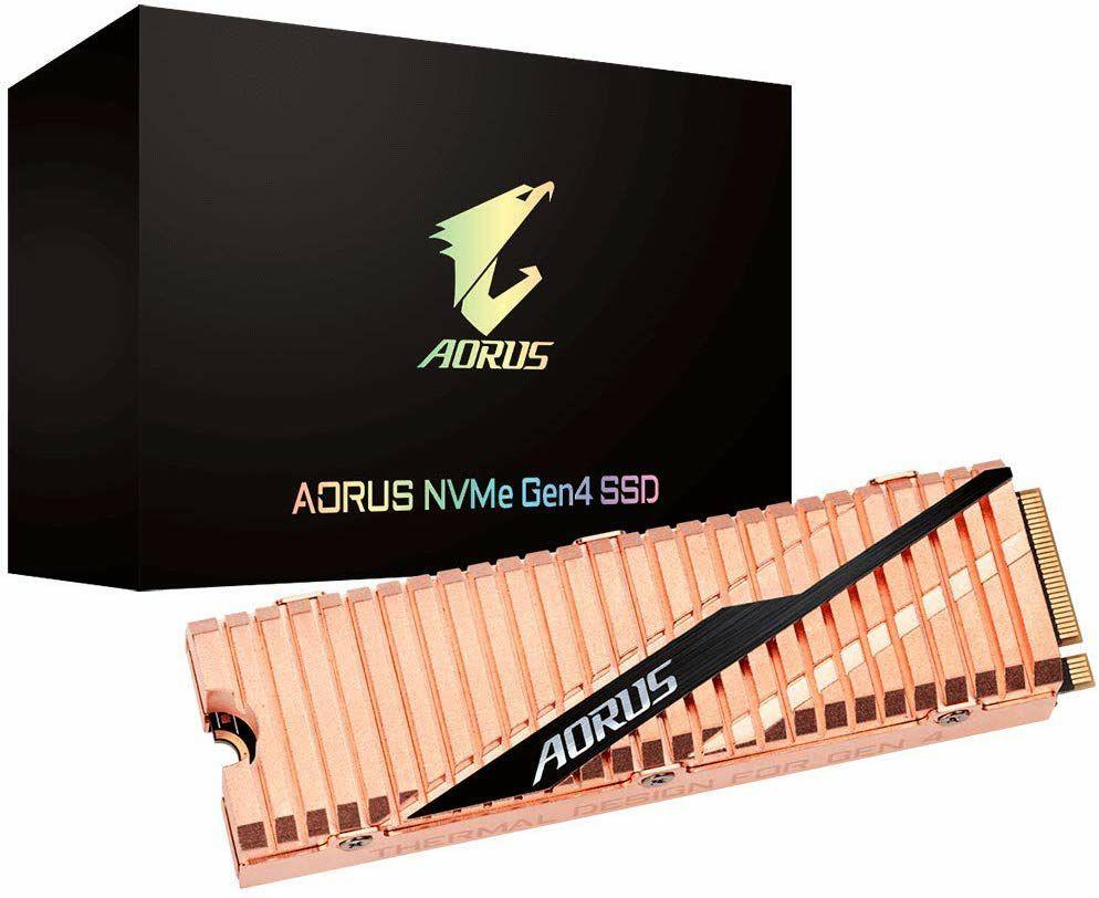 Gigabyte Solid State Drive AORUS NVMe Gen4 1TB (M.2 2280, PCIe 4.0 x4, 5000MB/s Lesen, 4400MB/s Schreiben)